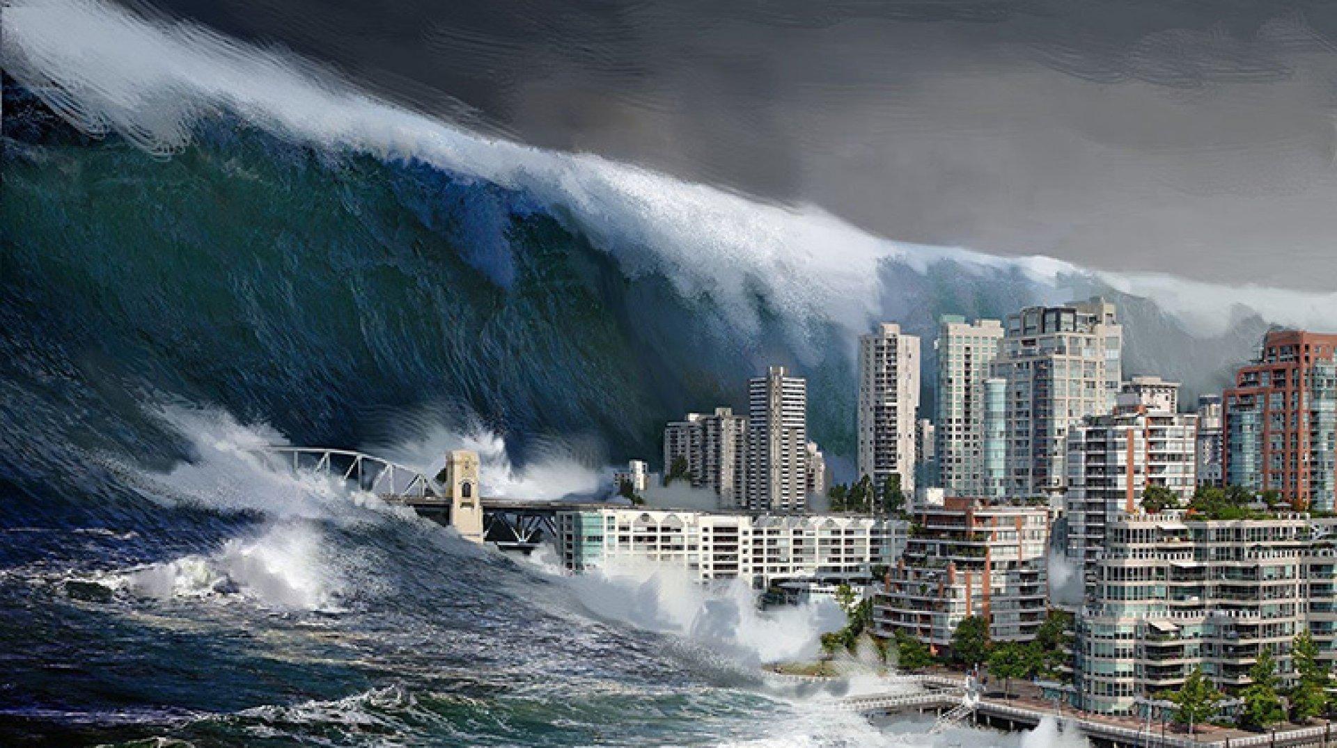 Монах предсказал потоп.