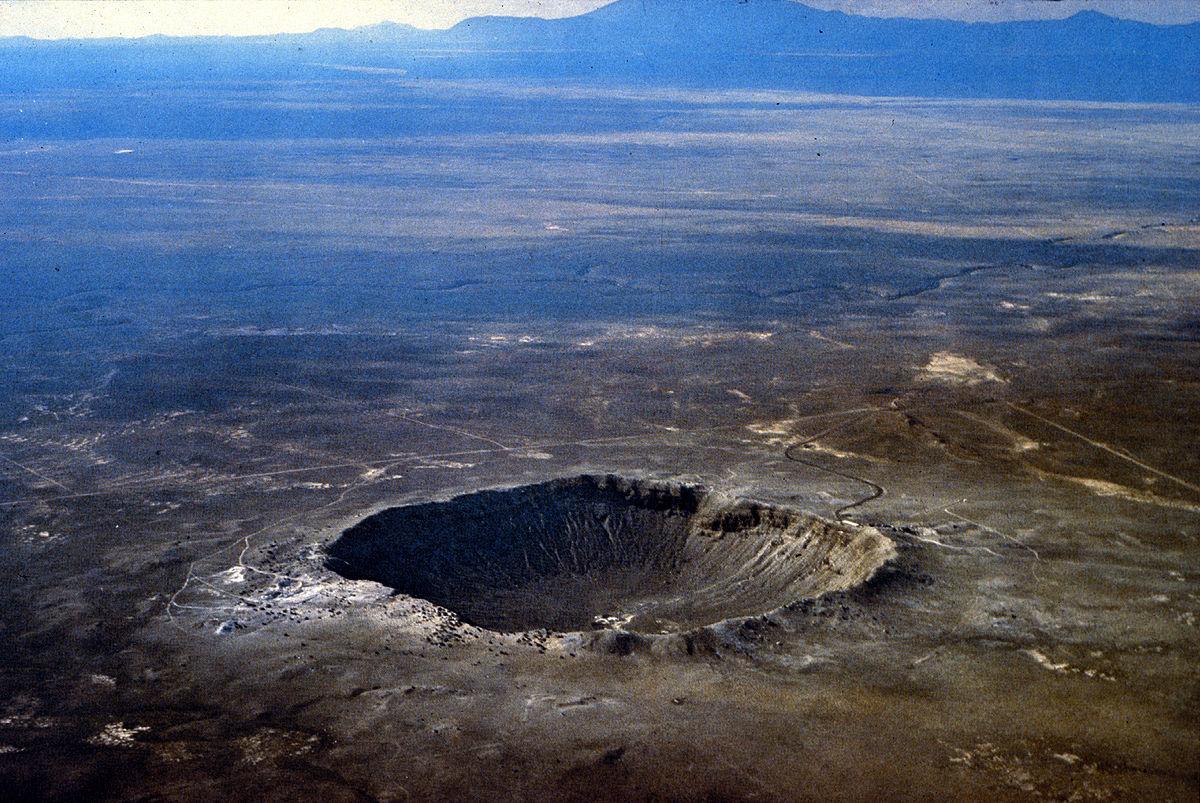 Картинки кратеров метеорита