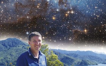 Д-р Девід Кінг і дослідження небес. ЛОГО.jpg